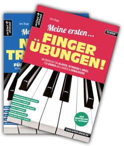 Meine ersten Fingerübungen & Mein erstes Notentraining im Set! von Rupp,  Jens