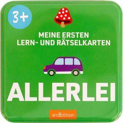 Meine ersten Lern- und Rätselkarten Allerlei von Gerbrands,  Anneke, Sörensen-Knoop,  Maraike