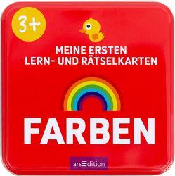 Meine ersten Lern- und Rätselkarten Farben von Gerbrands,  Anneke, Sörensen-Knoop,  Maraike