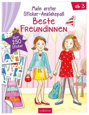 Meine ersten Sticker-Anziehpuppen Freundinnen von Theissen,  Petra