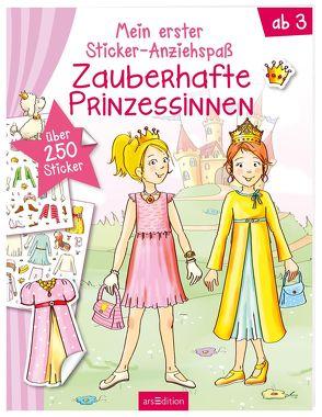 Meine ersten Sticker-Anziehpuppen Prinzessinnen von Theissen,  Petra
