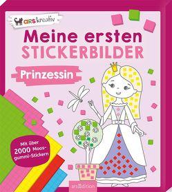 Meine ersten Stickerbilder Prinzessin von Schindler,  Eva
