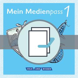 Meine Fibel – Aktuelle Ausgabe / 1. Schuljahr – Mein Medienpass von Bülow,  Sandra, Grotehusmann,  Sarah