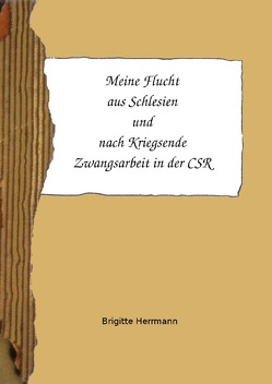 Meine Flucht aus Schlesien und nach Kriegsende Zwangsarbeit in der CSR von Herrmann,  Brigitte
