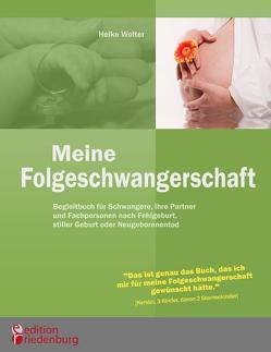 Meine Folgeschwangerschaft – Begleitbuch für Schwangere, ihre Partner und Fachpersonen nach Fehlgeburt, stiller Geburt oder Neugeborenentod von Wolter,  Heike
