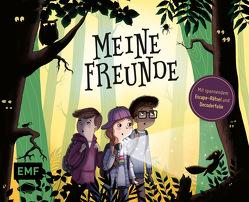 Meine Freunde – Das Freundebuch mit schaurig-spannendem Escape-Rätsel von Parciak,  Monika