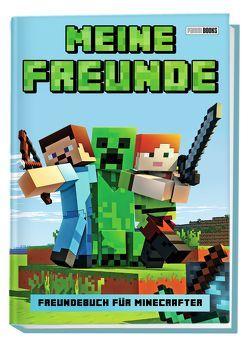 Meine Freunde – Freundebuch für Minecrafter von Panini
