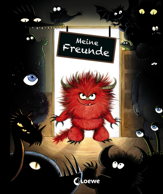 Meine Freunde (Monster) von Daub, Leonie: Freundebuch, Eintragbuch, Po