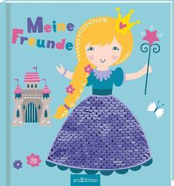 Meine Freunde – Prinzessin (mit Wendepailletten)