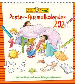 Meine Freundin Conni Ausmalkalender 2020 von Görrissen,  Janina, Schneider,  Liane