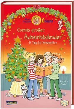 Meine Freundin Conni – Connis großer Adventskalender von Albrecht,  Herdis, Sander,  Karoline