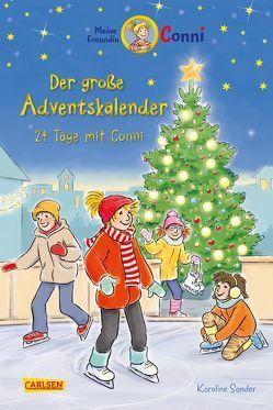 Meine Freundin Conni – Der große Adventskalender von Albrecht,  Herdis, Sander,  Karoline
