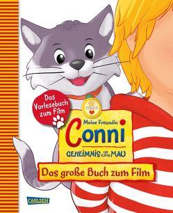 Meine Freundin Conni – Geheimnis um Kater Mau. Das große Buch zum Film von Sander,  Karoline