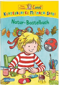 Meine Freundin Conni: Kunterbunter Mitmach-Spaß – Natur-Bastelbuch von Leintz,  Laura, Velte,  Uli