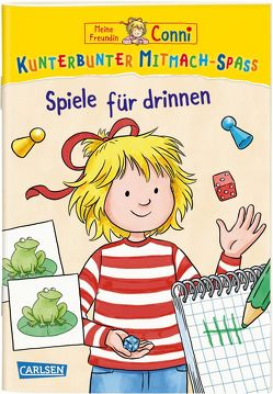 Meine Freundin Conni: Kunterbunter Mitmach-Spaß – Spiele für drinnen von Leintz,  Laura, Velte,  Uli