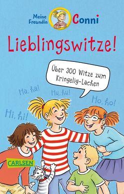 Meine Freundin Conni: Lieblingswitze! von Albrecht,  Herdis