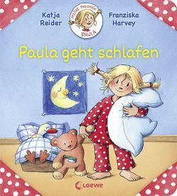Meine Freundin Paula – Paula geht schlafen von Harvey,  Franziska, Reider,  Katja