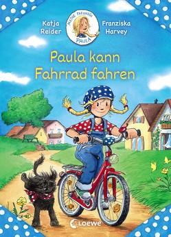 Meine Freundin Paula – Paula kann Fahrrad fahren von Harvey,  Franziska, Reider,  Katja