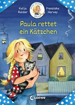 Meine Freundin Paula – Paula rettet ein Kätzchen von Harvey,  Franziska, Reider,  Katja