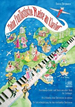 Meine funTastische Reise am Klavier von Bergmann,  Hanna
