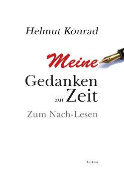 Meine Gedanken zur Zeit von Konrad,  Helmut
