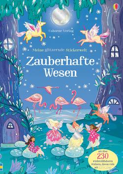 Meine glitzernde Stickerwelt: Zauberhafte Wesen von Betts,  Anni, Patchett,  Fiona