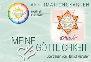 MEINE GÖTTLICHKEIT von Ranalter,  Helmut