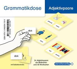 Meine Grammatikdose – Adjektivpaare von Langhans,  Katrin
