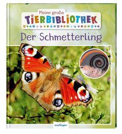 Meine große Tierbibliothek: Der Schmetterling von Tracqui,  Valérie