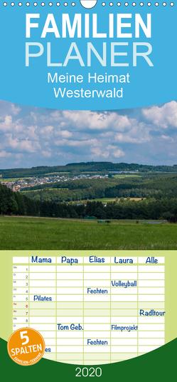 Meine Heimat Westerwald – Familienplaner hoch (Wandkalender 2020 , 21 cm x 45 cm, hoch) von Bläcker,  Petra