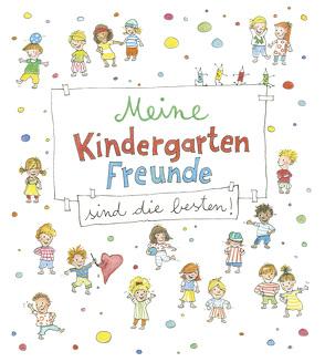 Meine Kindergarten-Freunde sind die besten! – Kritzel-Freundebuch ab 3 Jahre von Stubner,  Angelika