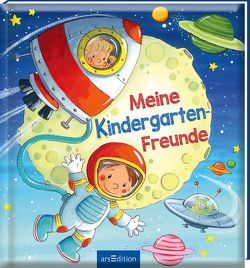 Meine Kindergarten-Freunde (Weltraum) von Kraushaar,  Sabine