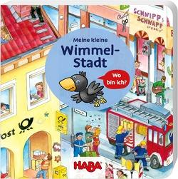 Meine kleine Wimmel-Stadt von Brockamp,  Melanie, Schmidt,  Annika, Storch,  Imke