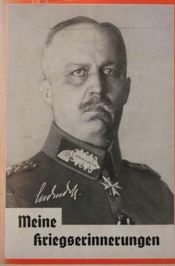 Meine Kriegserinnerungen 1914-1918 von Ludendorff,  Erich