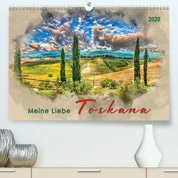 Meine Liebe – Toskana (Premium, hochwertiger DIN A2 Wandkalender 2020, Kunstdruck in Hochglanz) von Roder,  Peter