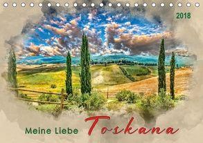 Meine Liebe – Toskana (Tischkalender 2018 DIN A5 quer) von Roder,  Peter