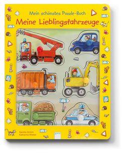 Meine Lieblingsfahrzeuge. Mein schönstes Puzzle-Buch von Grimm,  Sandra, Wieker,  Katharina