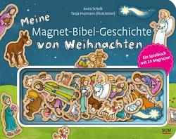 Meine Magnet-Bibel-Geschichte von Weihnachten von Husmann,  Tanja, Schalk,  Anita