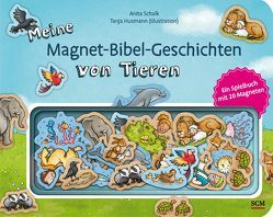 Meine Magnet-Bibel-Geschichten von Tieren von Husmann,  Tanja, Schalk,  Anita