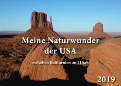 Meine Naturwunder der USA zwischen Kalifornien und Utah von Krensel,  Erwin