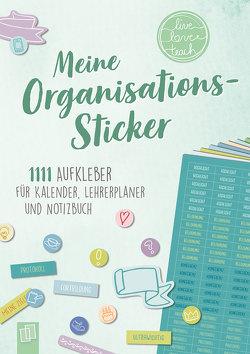 """Meine Organisations-Sticker """"live – love – teach"""" von Redaktionsteam Verlag an der Ruhr"""