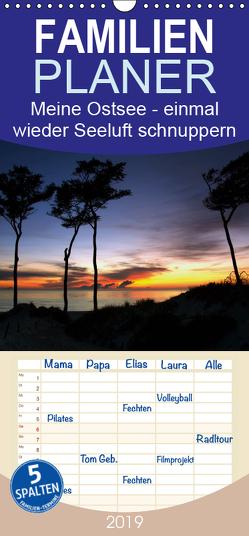 Meine Ostsee – einmal wieder Seeluft schnuppern – Familienplaner hoch (Wandkalender 2019 , 21 cm x 45 cm, hoch) von Gierok,  Steffen