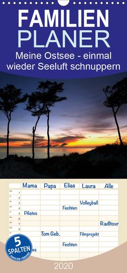 Meine Ostsee – einmal wieder Seeluft schnuppern – Familienplaner hoch (Wandkalender 2020 , 21 cm x 45 cm, hoch) von Gierok,  Steffen
