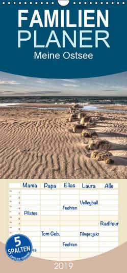 Meine Ostsee – Familienplaner hoch (Wandkalender 2019 , 21 cm x 45 cm, hoch) von Gierok / Magic Artist Design,  Steffen