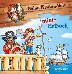 Meine Piraten-Welt: mini-Malbuch von Lohr,  Stefan