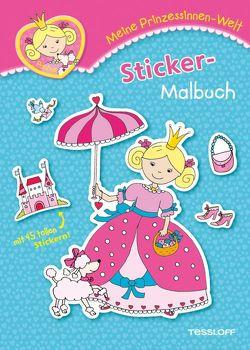Meine Prinzessinnen-Welt: Sticker-Malbuch von Schmidt,  Sandra