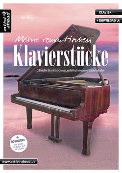 Meine romantischen Klavierstücke von Rupp,  Jens