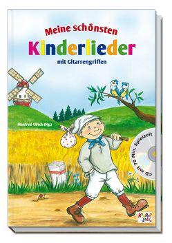 Meine schönsten Kinderlieder mit CD von Georgi,  Heike, Ulrich,  Manfred