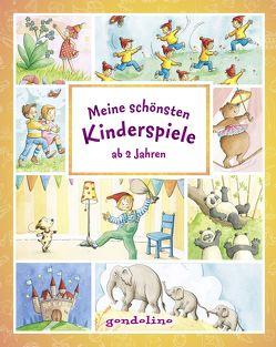 Meine schönsten Kinderspiele ab 2 Jahre von Nick,  Svenja, Theissen,  Petra