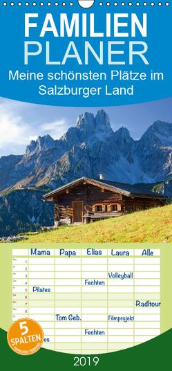 Meine schönsten Plätze im Salzburger Land – Familienplaner hoch (Wandkalender 2019 , 21 cm x 45 cm, hoch) von Kramer,  Christa